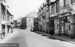 Aberkenfig, Bridgend Road c.1960