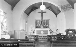 Aberkenfig, Catholic Church Of St Robert, Interior c.1955
