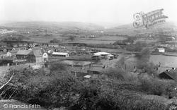Aberkenfig, From Penlan c.1955