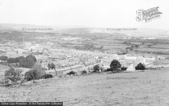 Photo of Aberkenfig, General View c.1955