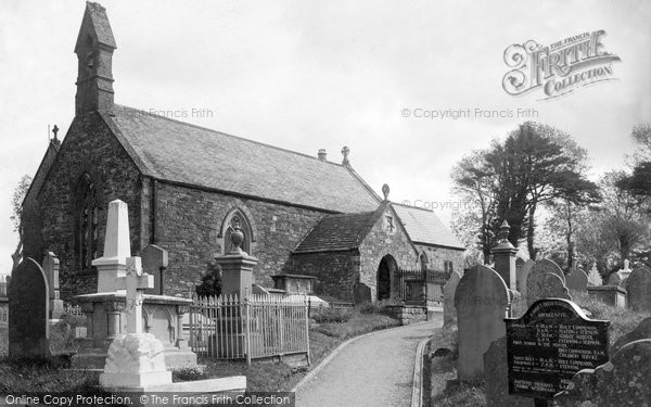 Photo of Aberkenfig, Llansantffraid Church 1938