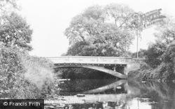 Aberkenfig, Ogmore Bridge c.1955