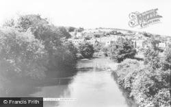 Aberkenfig, River Ogmore c.1955