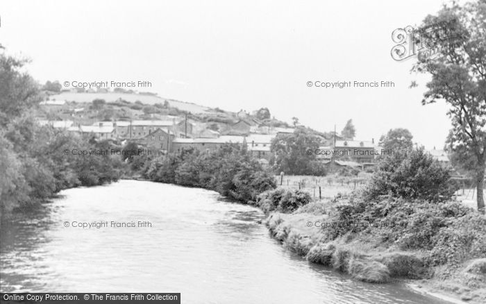 Photo of Aberkenfig, The Village From The Bridge c.1955