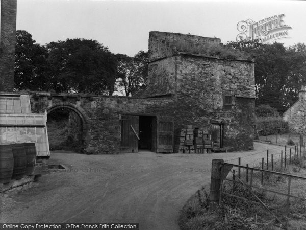 Photo of Aberlady, Redhouse Doocot 1953