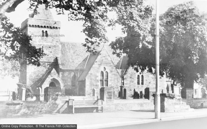 Photo of Aberlady, The Church c.1950