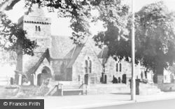 Aberlady, The Church c.1950