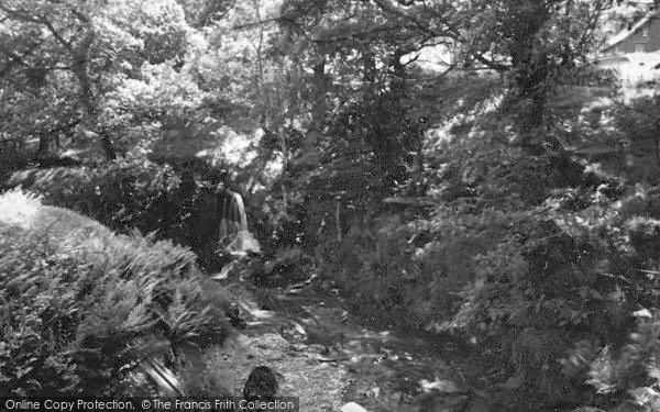 Photo of Aberllefenni, The River c.1960