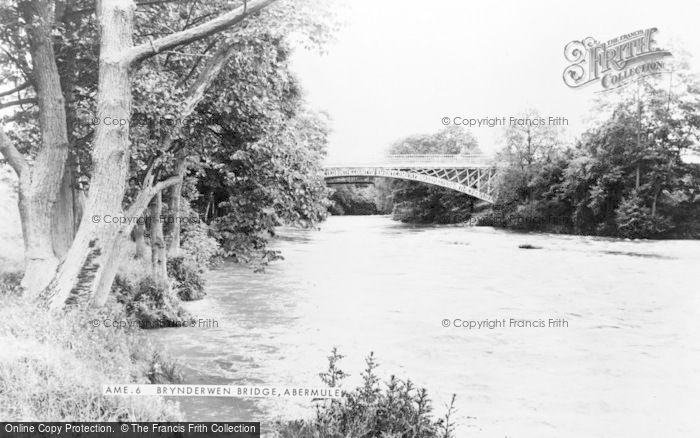 Photo of Abermule, Brynderwen Bridge c.1965