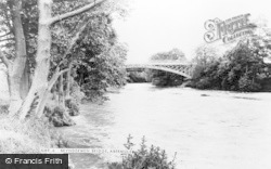Abermule, Brynderwen Bridge c.1965