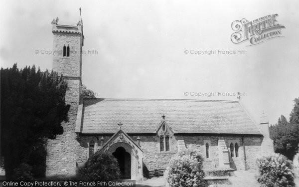 Photo of Abermule, St Llwchaiarn Church c.1965