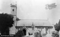 Abermule, St Llwchaiarn Church c.1965