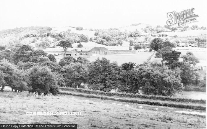 Photo of Abermule, The School c.1965