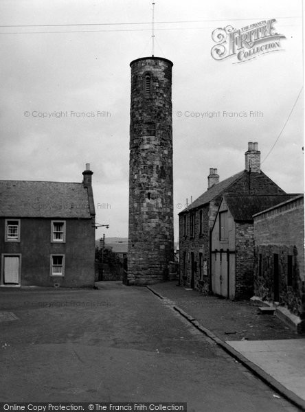 Photo of Abernethy, Round Tower 1954
