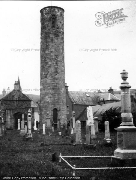 Photo of Abernethy, Round Tower 1957