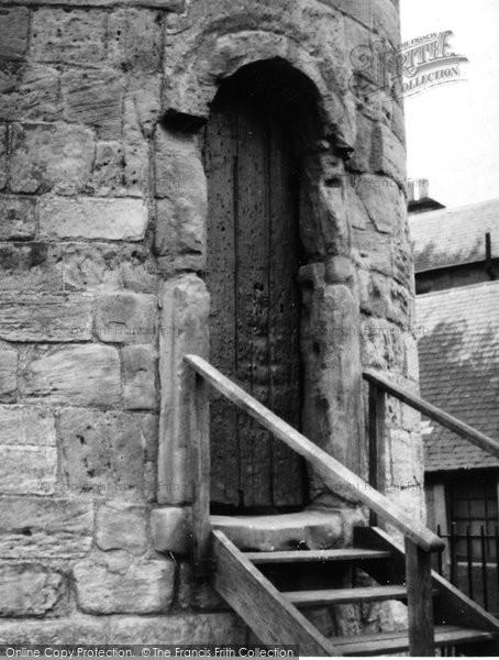 Photo of Abernethy, Round Tower Doorway 1957