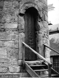 Abernethy, Round Tower Doorway 1957