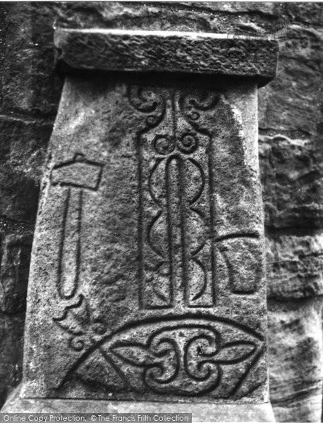 Photo of Abernethy, Symbol Stone 1957
