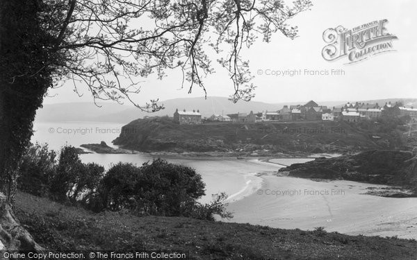 Photo of Aberporth, A Peep Through The Trees c.1950