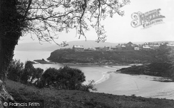 Aberporth, A Peep Through The Trees c.1950