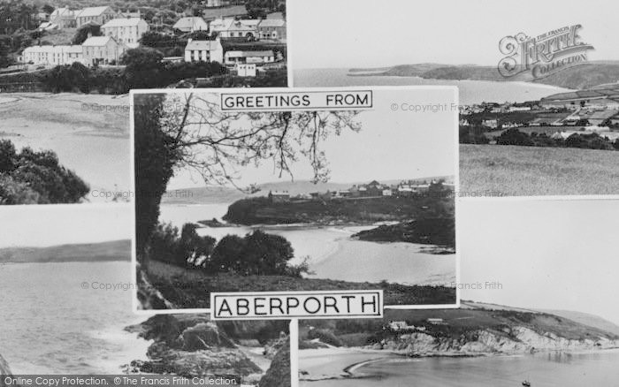 Photo of Aberporth, Composite c.1955