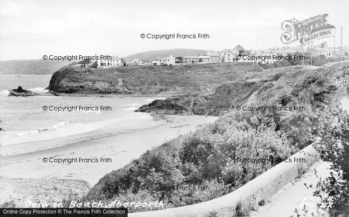Photo of Aberporth, Dolwen Beach c.1955