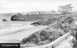 Aberporth, Dolwen Beach c.1955