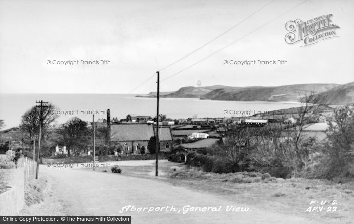Photo of Aberporth, General View c.1950