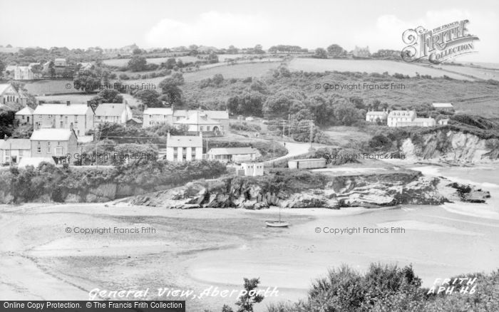 Photo of Aberporth, General View c.1955
