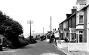 Aberporth, High Street c.1955