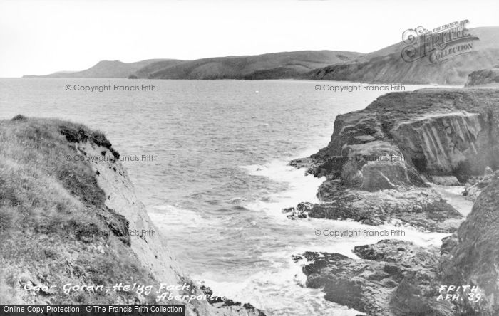 Photo of Aberporth, Ogar Goran, Helyg Fach c.1955