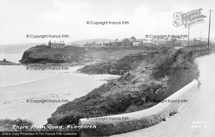 Photo of Aberporth, Shore From The Road c.1950