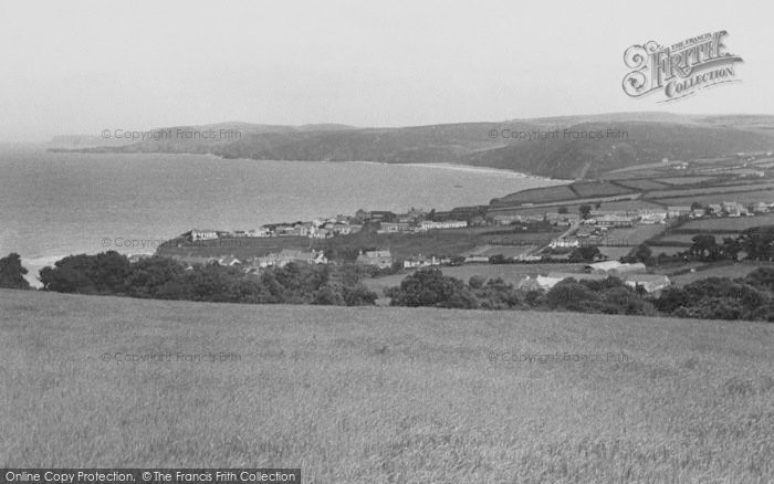 Photo of Aberporth, The Bay And Village c.1955