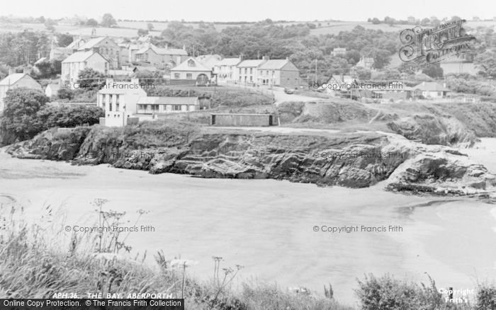 Photo of Aberporth, The Bay c.1955