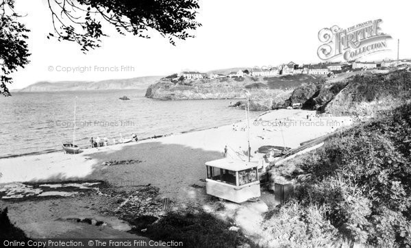 Photo of Aberporth, The Bays c.1960