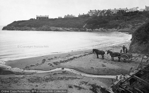Photo of Aberporth, The Beach c.1935