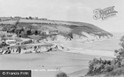 Aberporth, The Beaches And Cliffs c.1960