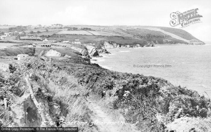 Photo of Aberporth, The Coast c.1955