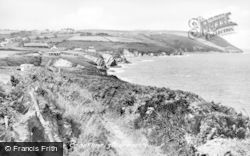 Aberporth, The Coast c.1955