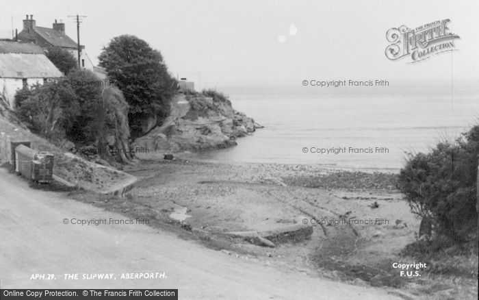 Photo of Aberporth, The Slipway c.1950