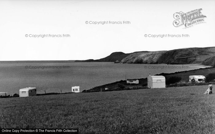 Photo of Aberporth, View North From Helyg Fach c.1960