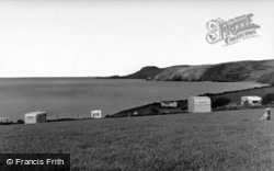 View North From Helyg Fach c.1960, Aberporth