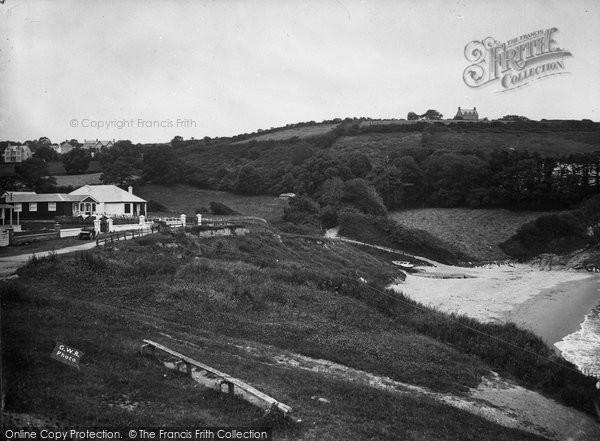 Photo of Aberporth, Village c.1935