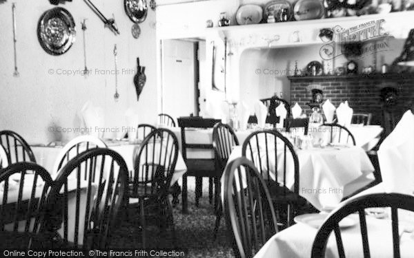 Photo of Abersoch, A Corner Of The Dining Room, Manor Private Hotel c.1955