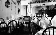 Abersoch, A Corner Of The Dining Room, Manor Private Hotel c.1955