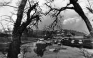 Abersoch, A Peep Through The Trees c.1936