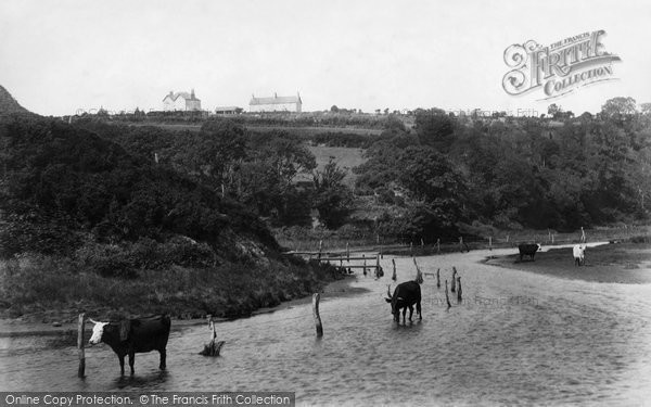 Photo of Abersoch, Afon Soch 1901