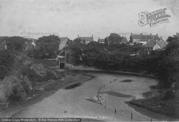 Photo of Abersoch, Afon Soch 1901