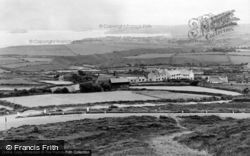 Abersoch, And St Tudwal's Island c.1955