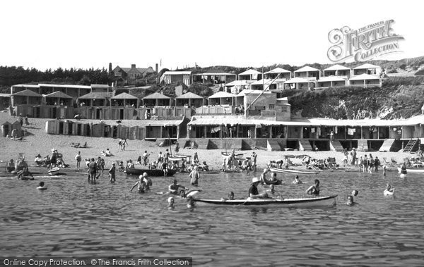 Photo of Abersoch, Bathing Time c.1935